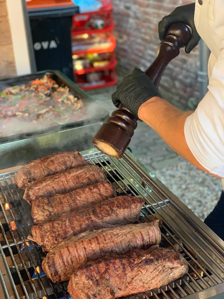 Barbecue compleet 'de luxe'